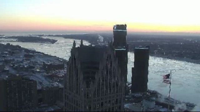 Detroit sky cam jan 22