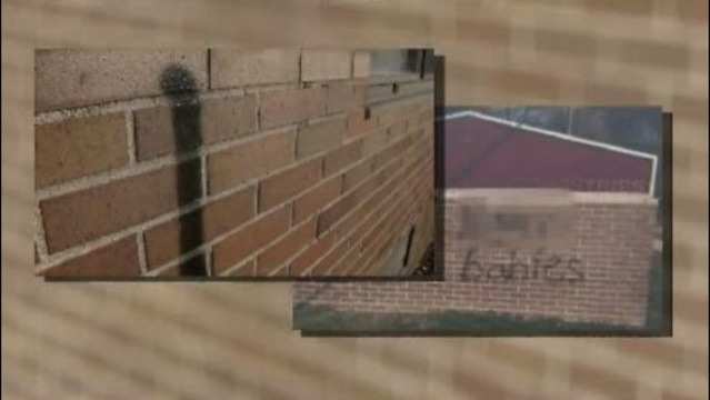 Divine Restoration Ministries Mount Clemens graffiti