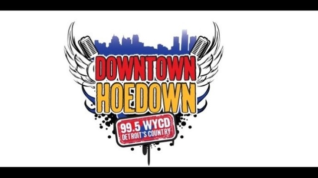 Downtown hoedown logo