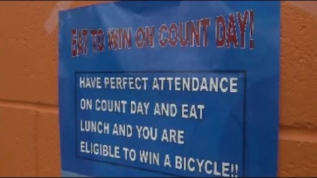 Eat to win on Count day