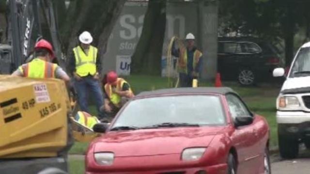 Gas line fix Royal Oak 1