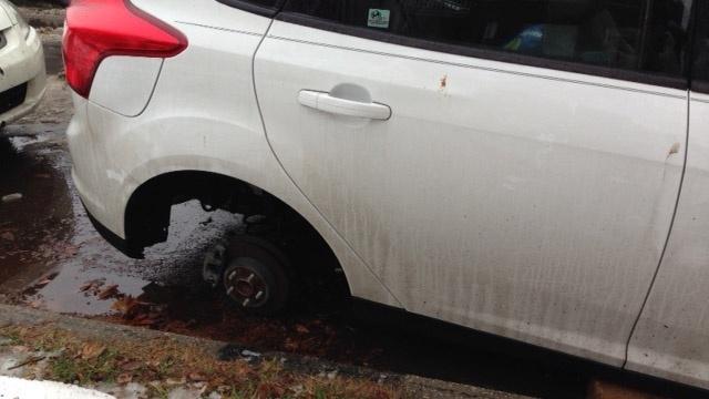 Corktown car thefts