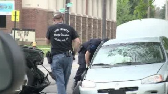 Harper Woods police chase crash 1