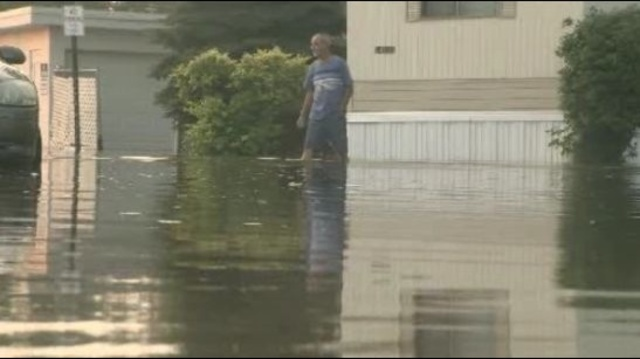 Harrison Township flood 1