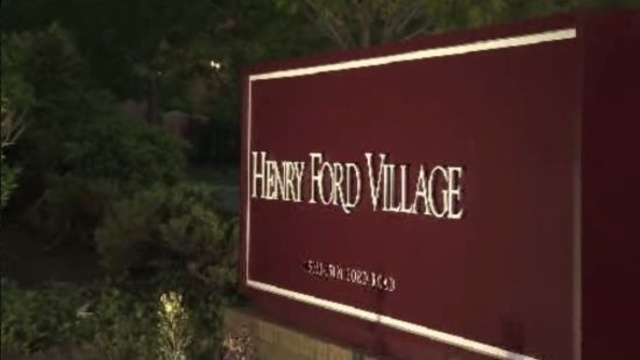 Henry Ford Village nursing home sign