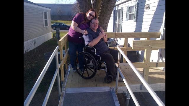 Hicks family new ramp