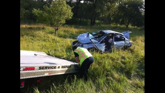 Holly crash photo