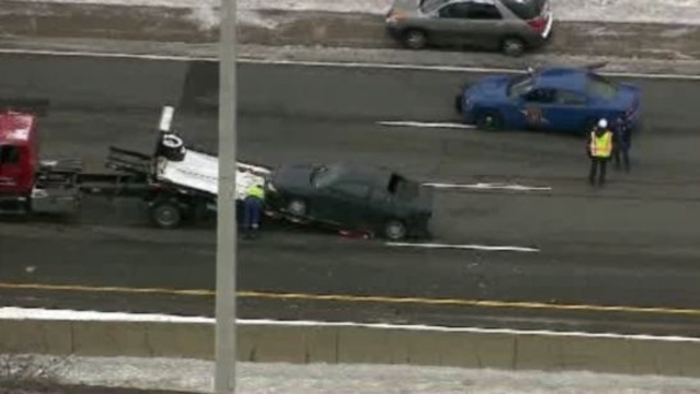 I-96 Livonia crash 1