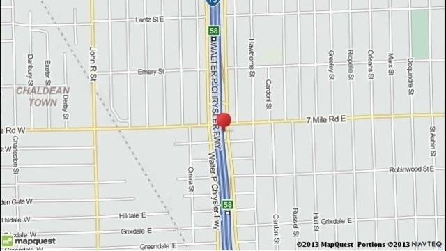 I75 at 7 mile Road