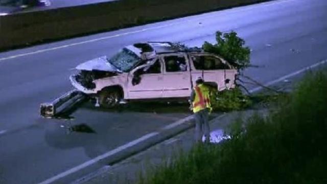 I94 at Cadieux crash scene