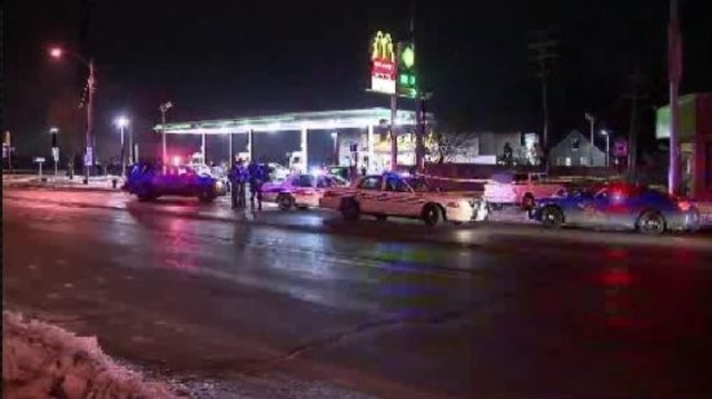 Police investigation at Joy and Ashton in Detroit