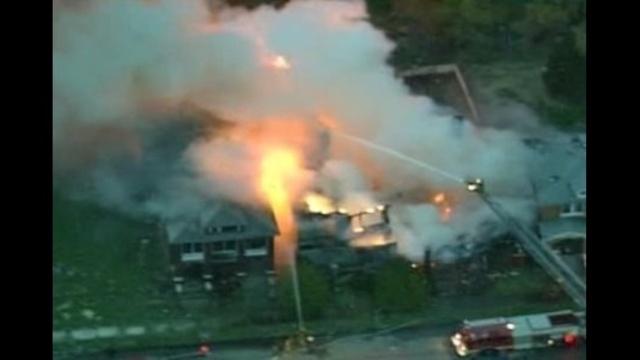 Detroit house fires