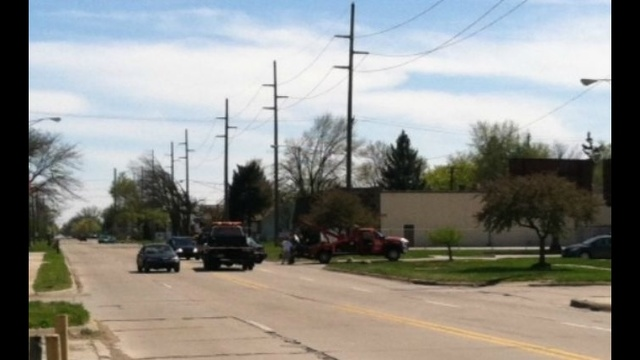 Grandfather, child hurt in motorcycle accident