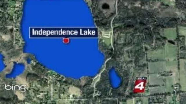 Independence Lake map