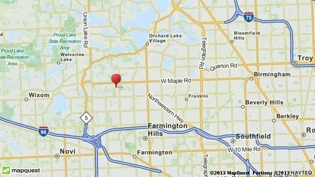 Jewish Community Center evacuation map