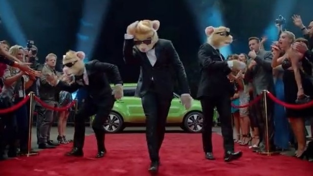 KIA hamsters applause image