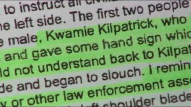 Kilpatrick Gaskin hand signals report