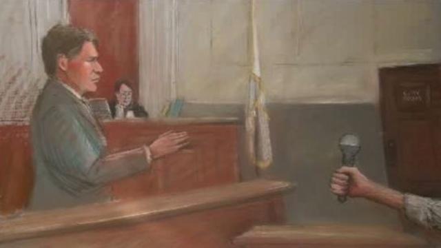 Kwame Kilpatrick sketch day 5 jury seleciton