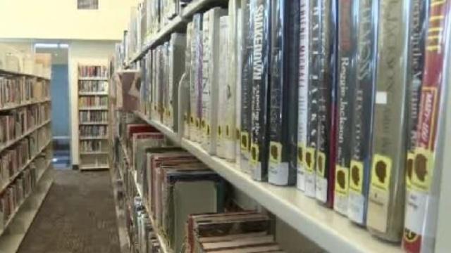 Library shelf