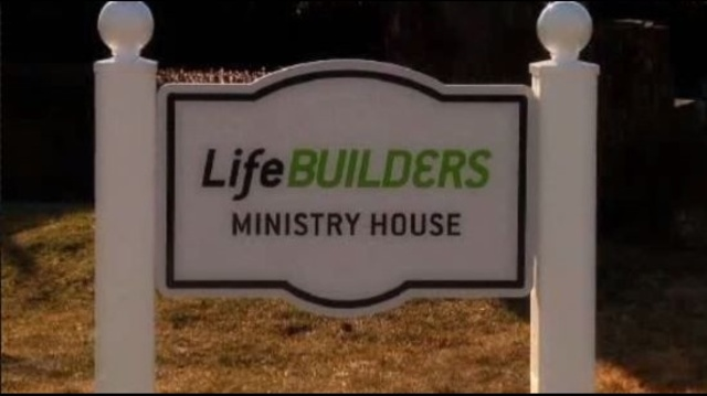 Life Builders sign