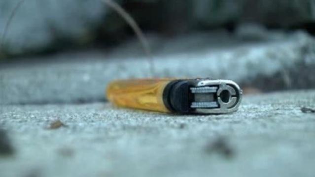 Lighter at Detroit house firebombed