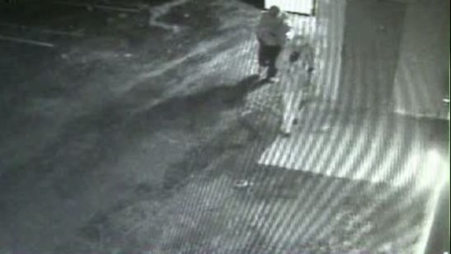 Livonia Plymouth Food Store robbery video in back 1
