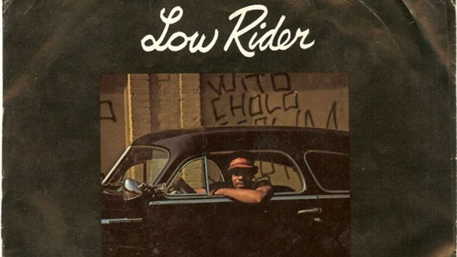 Low Rider by War album cover
