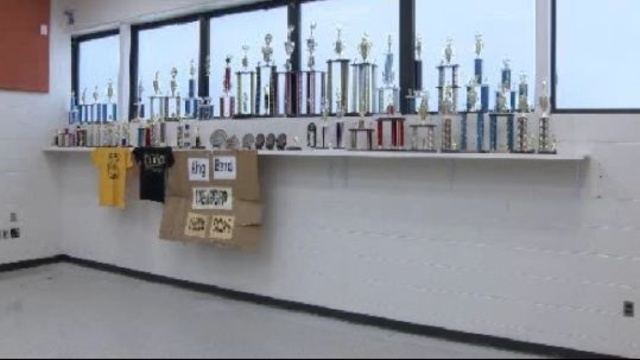 MLK band trophies