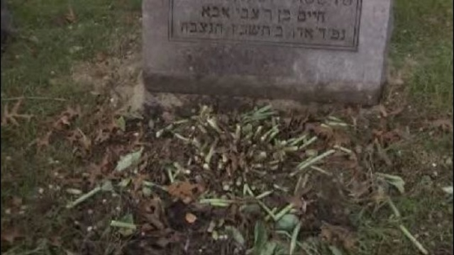 Machpelah cemetery damage