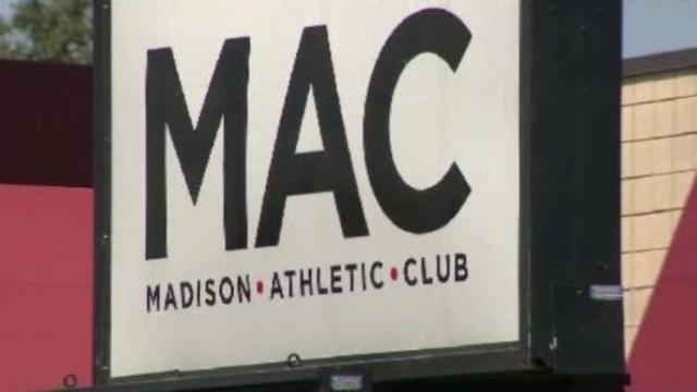 Madison Athletic Club MAC sign