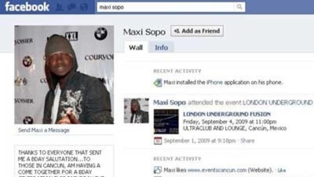 Maxi Sopo Facebook page