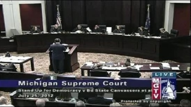 Michigan Supreme Court july 25