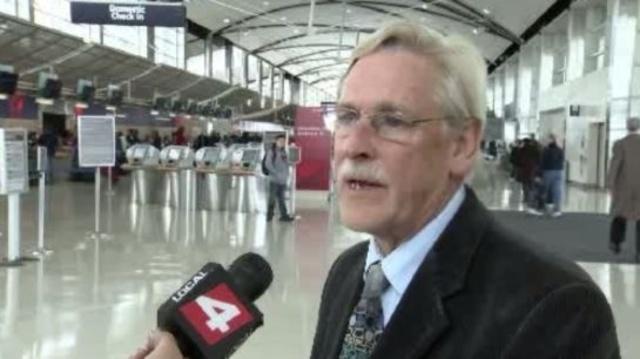 Mike Conway Detroit Metro Airport