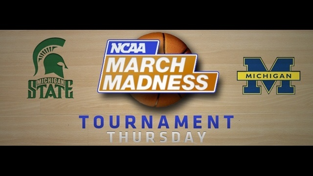 NCAA tournament Michigan Michigan State