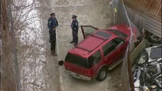 Novi police shooting scene