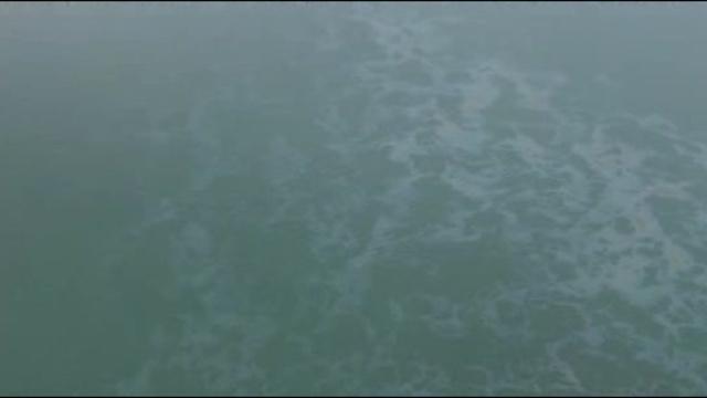 Oil Detroit river
