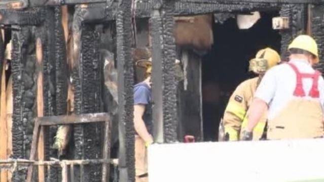 Ponchos Restaurant fire New Baltimore 1