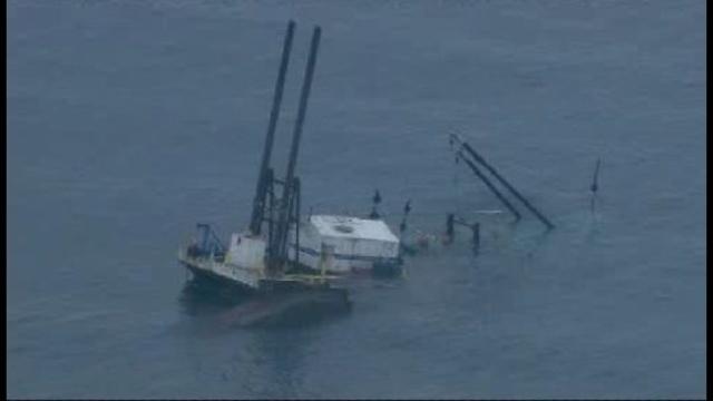 Port Huron barge sinking