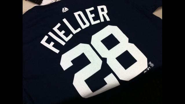 Prince Fielder shirt