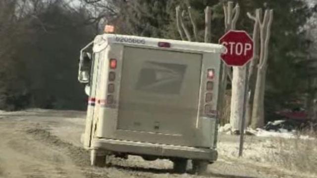 Romeo mail truck