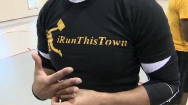 Run this town shirt