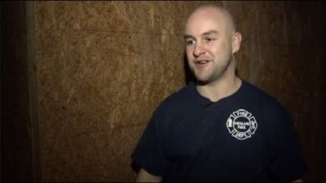 Scott Ziegler Highland Park firefighter
