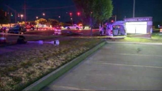 Shelby Township crash scene