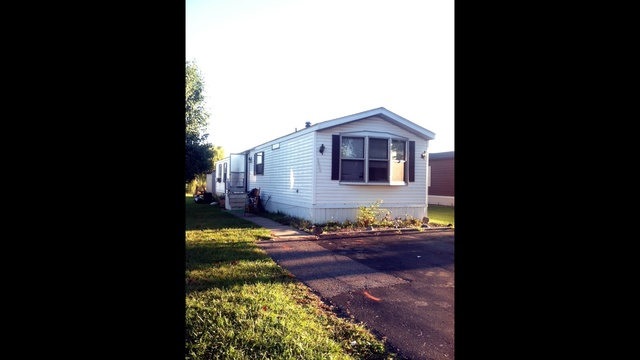 Shelby Township mobile home scene