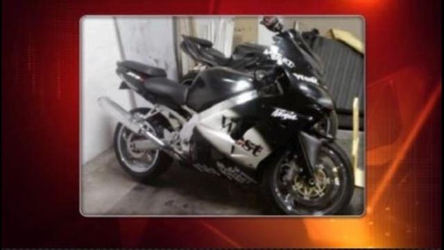 Stolen motorcycle Wixom