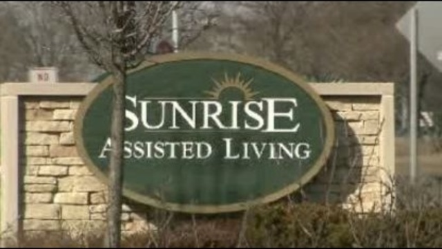 Sunrise Assisted Living sign