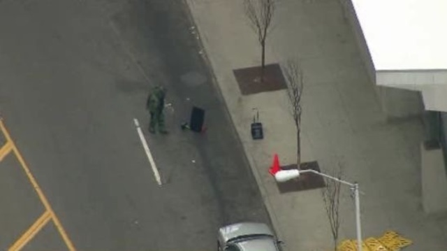 Suspicious package Rosa Parks Transit Center 3