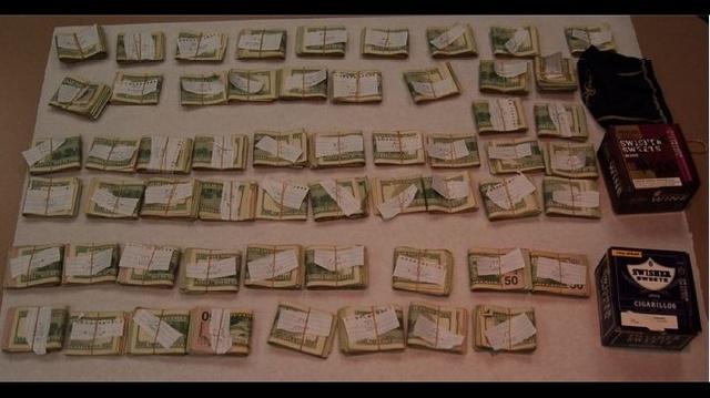 Money found at Taylor Elizabeth Klein's apartment