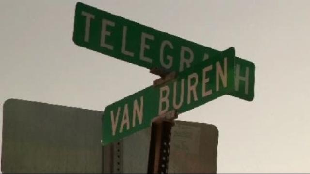 Telegraph and Van Buren