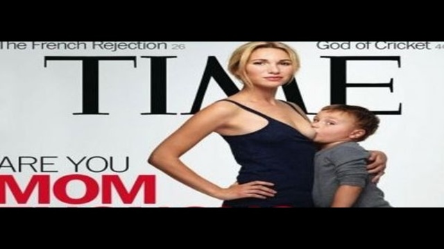 The Time magazine cover featuring a mother breastfeeding her 3-year-old son is sparking debate over